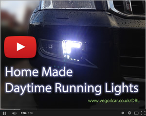 Home Made Daytime Running Lights (DRLs)