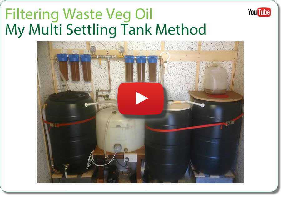Filtering WVO - Multi Settling Method - watch on YouTube